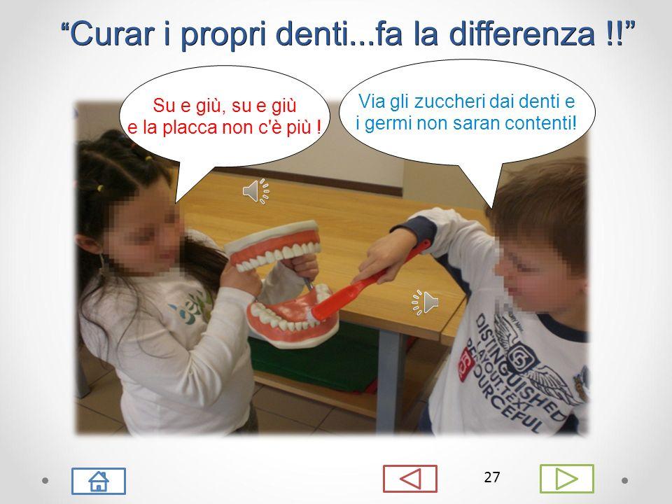 Curar i propri denti...fa la differenza !!