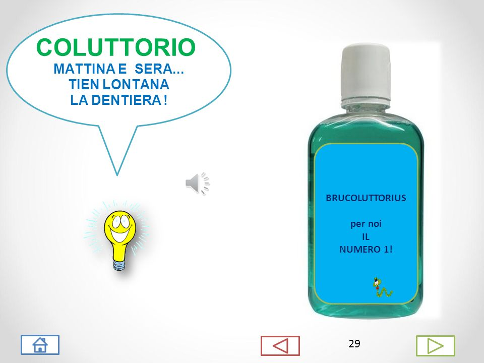 COLUTTORIO MATTINA E SERA... TIEN LONTANA LA DENTIERA ! 29