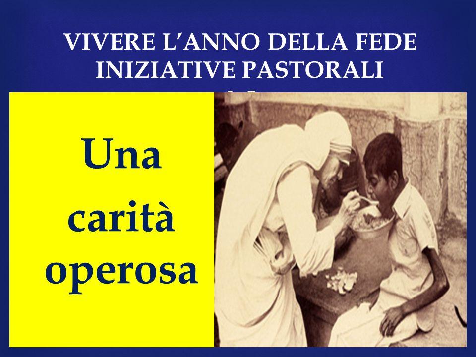 VIVERE L'ANNO DELLA FEDE