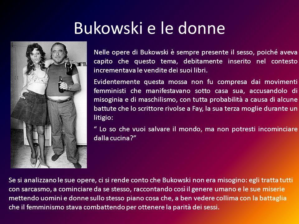Bukowski e le donne