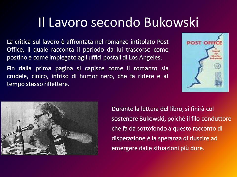 Il Lavoro secondo Bukowski