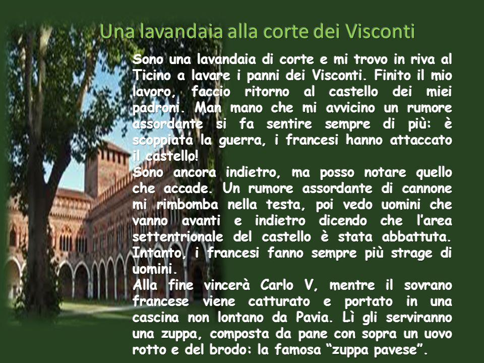 Una lavandaia alla corte dei Visconti