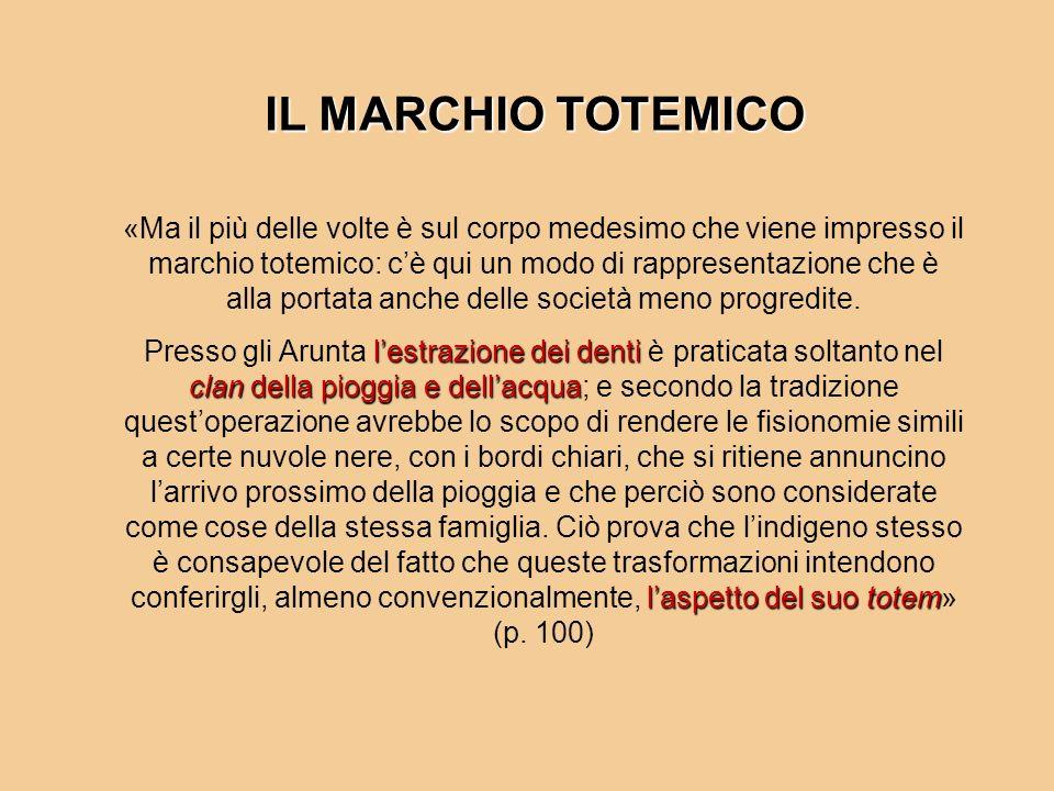 IL MARCHIO TOTEMICO