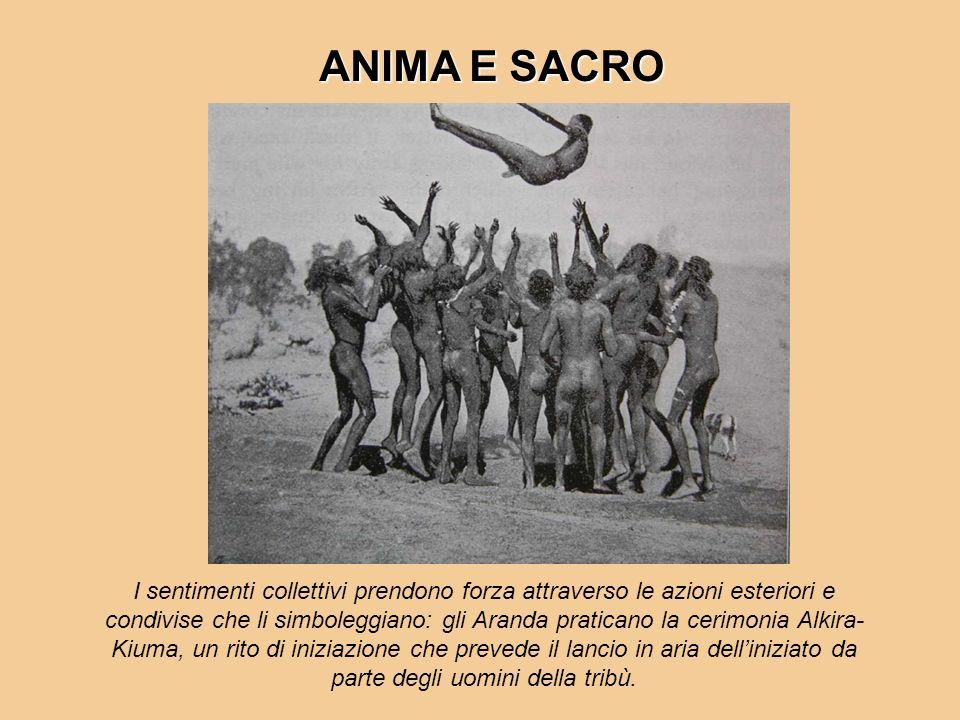 ANIMA E SACRO