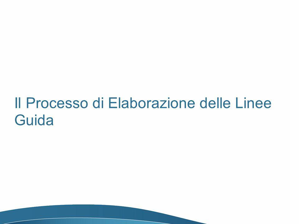 Il Processo di Elaborazione delle Linee Guida