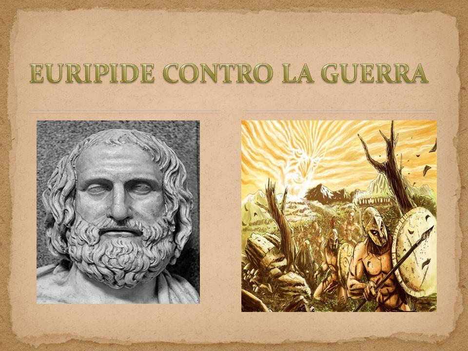 EURIPIDE CONTRO LA GUERRA