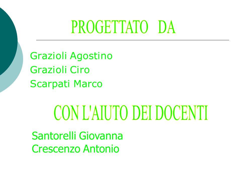 PROGETTATO DA CON L AIUTO DEI DOCENTI Santorelli Giovanna