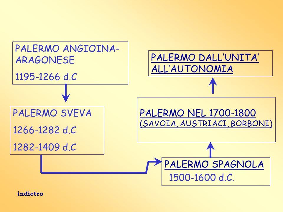 PALERMO ANGIOINA- ARAGONESE 1195-1266 d.C