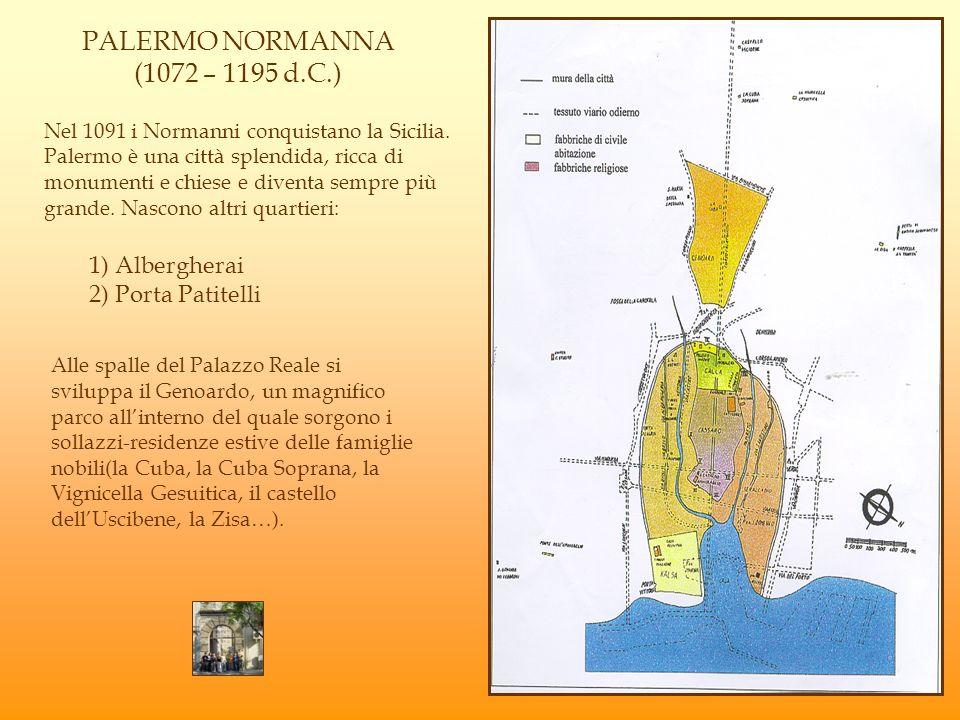 PALERMO NORMANNA (1072 – 1195 d.C.)