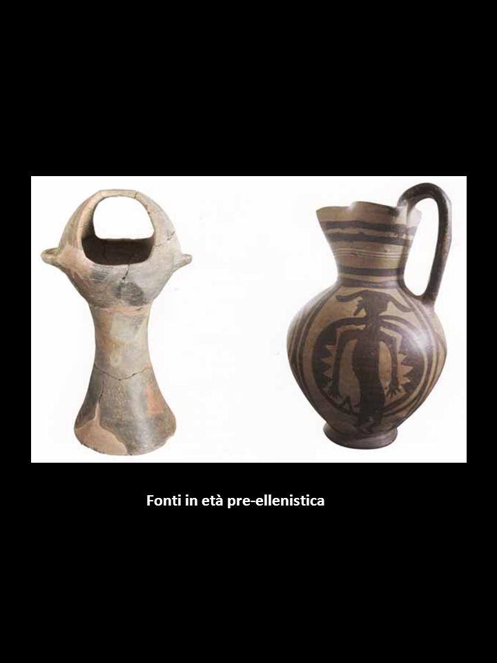 Fonti in età pre-ellenistica