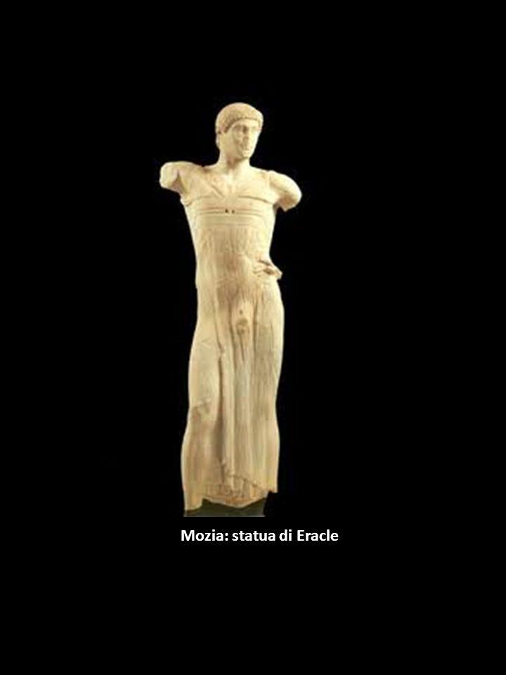 Mozia: statua di Eracle
