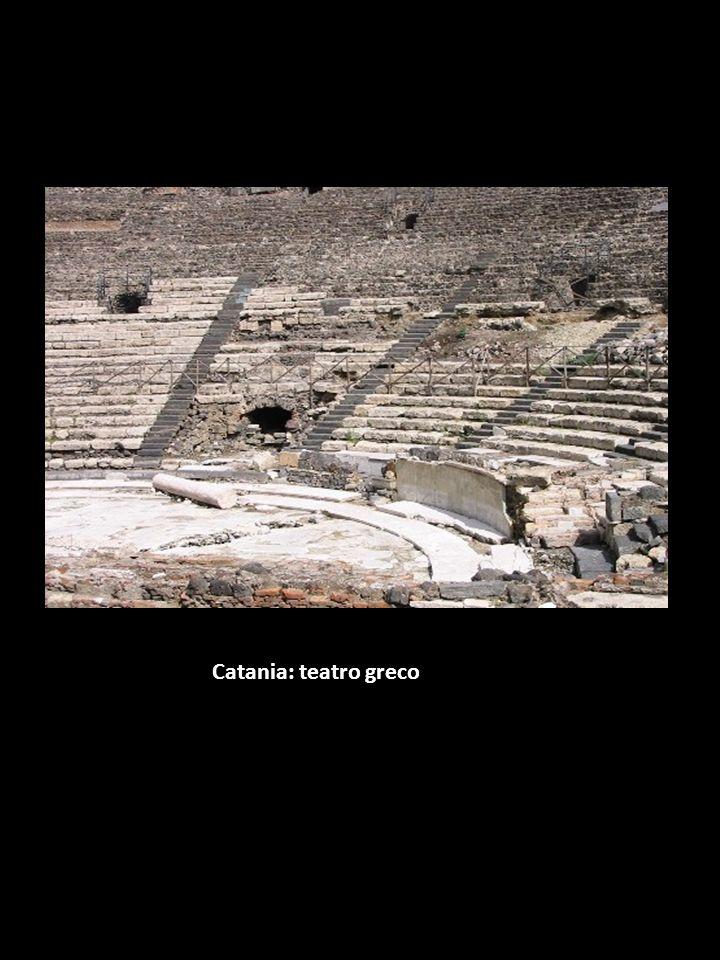 Catania: teatro greco
