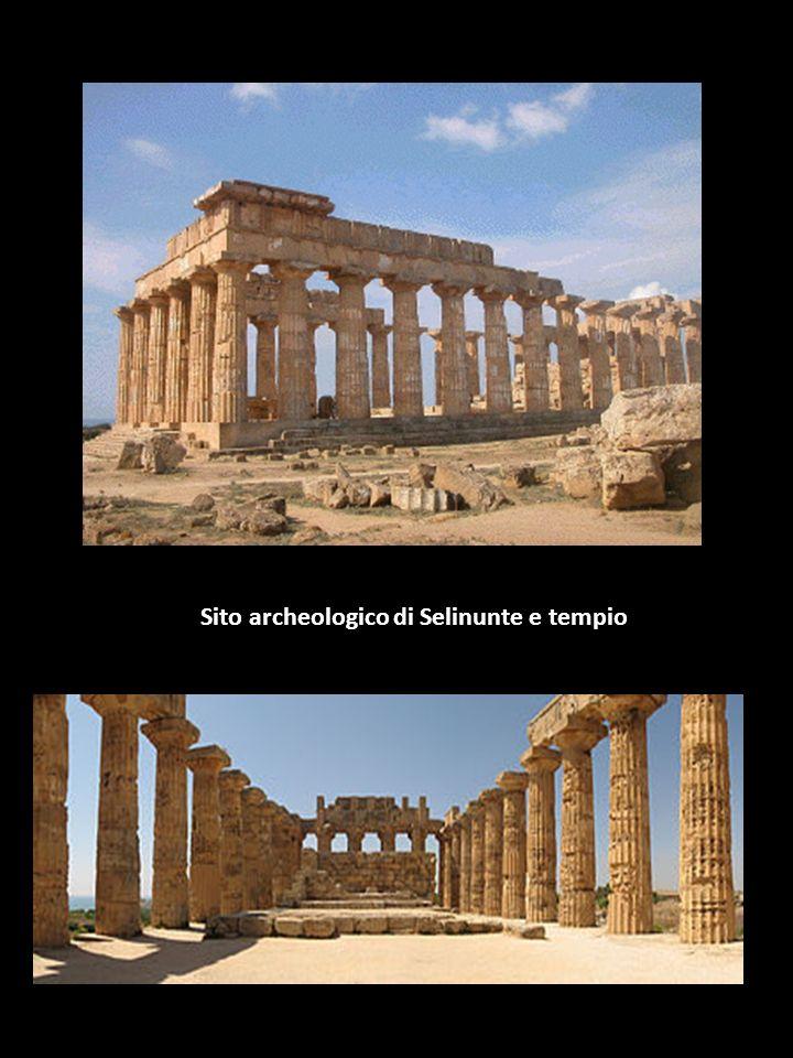 Sito archeologico di Selinunte e tempio