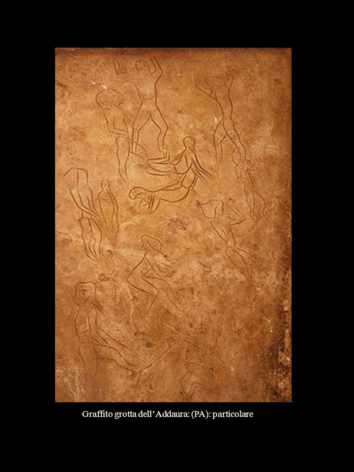 Graffito grotta dell'Addaura: (PA): particolare