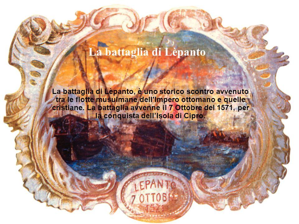 La battaglia di Lèpanto