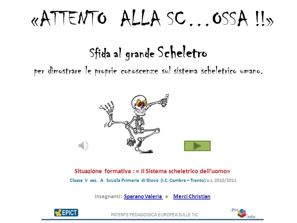 «ATTENTO ALLA SC…OSSA !!»