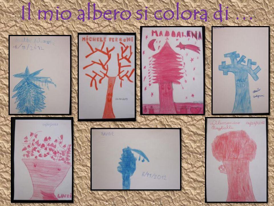 Il mio albero si colora di …