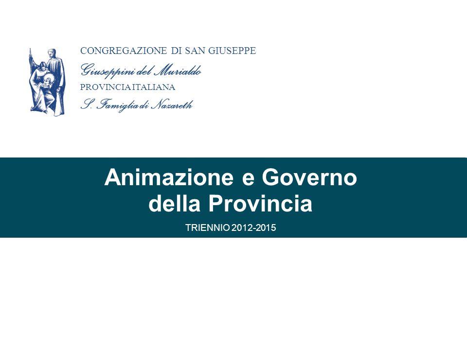 Animazione e Governo della Provincia