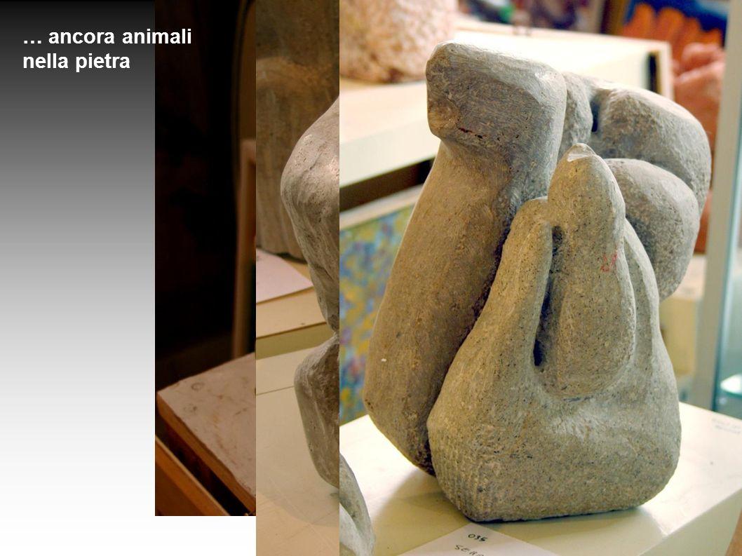 … ancora animali nella pietra