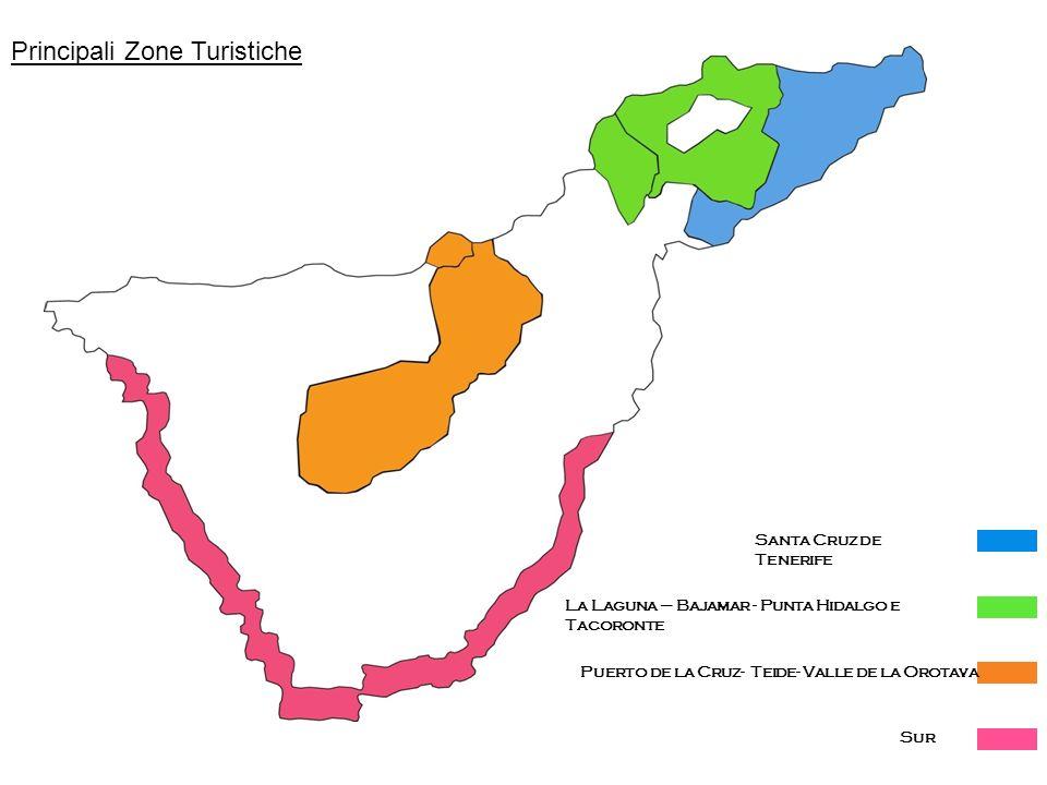 Principali Zone Turistiche