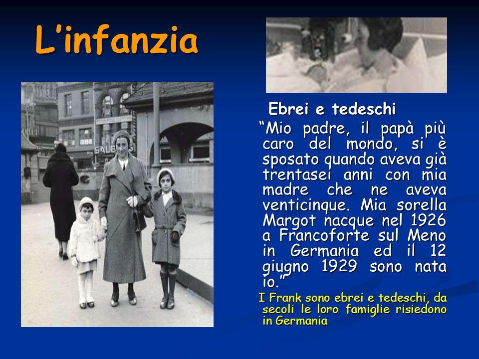 L'infanzia Ebrei e tedeschi