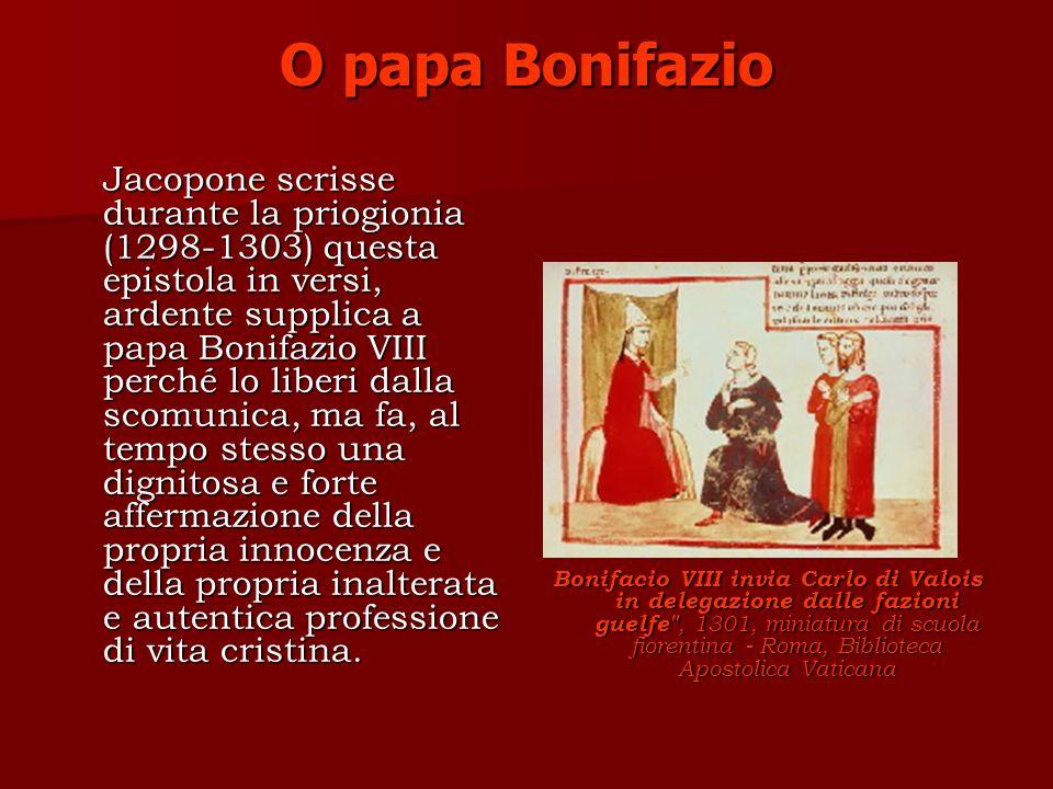 O papa Bonifazio