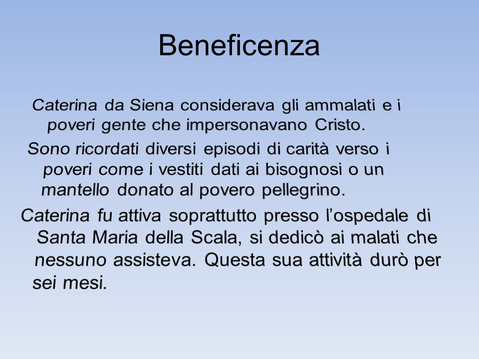 Beneficenza