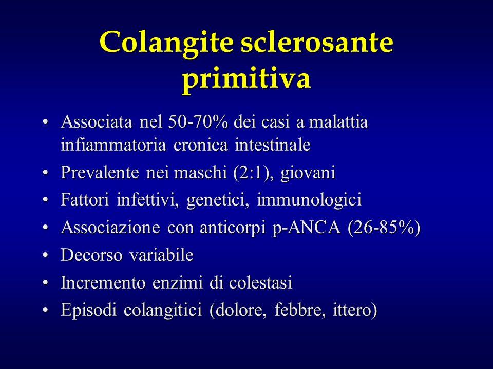 Colangite sclerosante primitiva