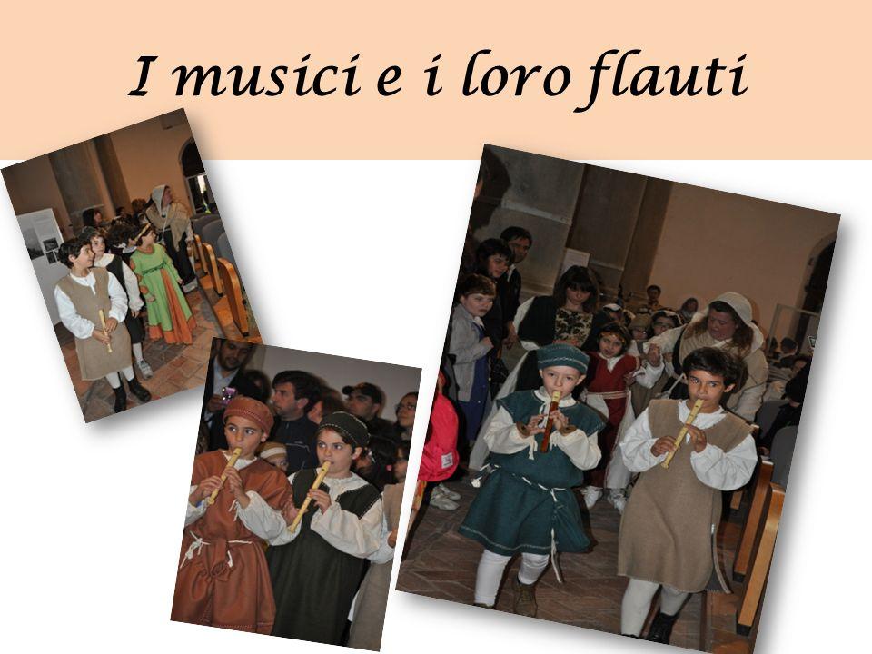 I musici e i loro flauti