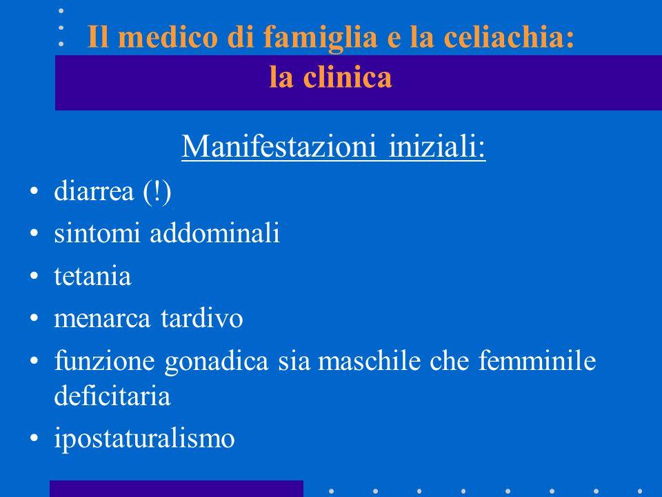 Il medico di famiglia e la celiachia: la clinica