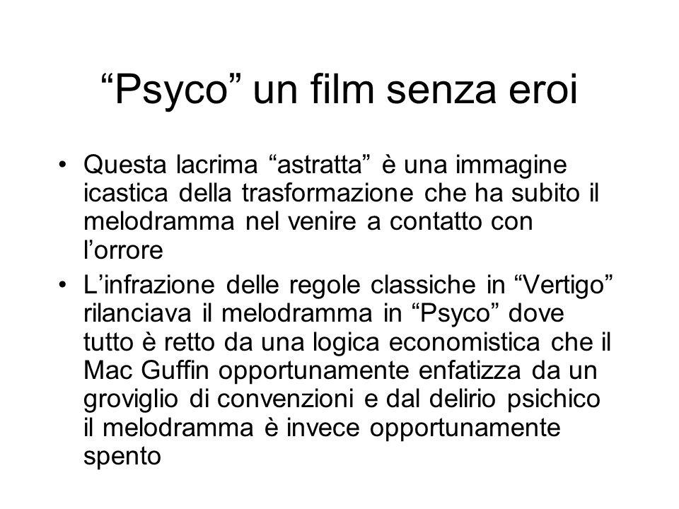 Psyco un film senza eroi