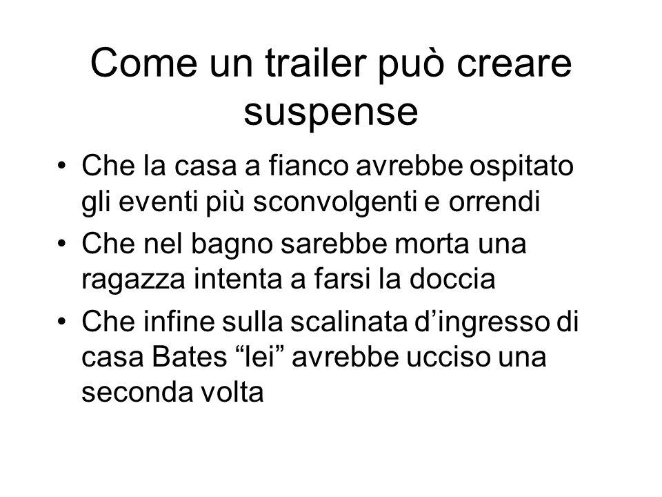 Come un trailer può creare suspense