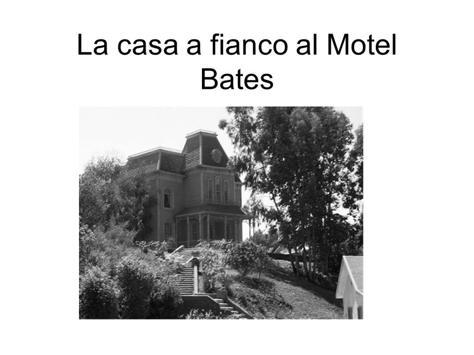 La casa a fianco al Motel Bates