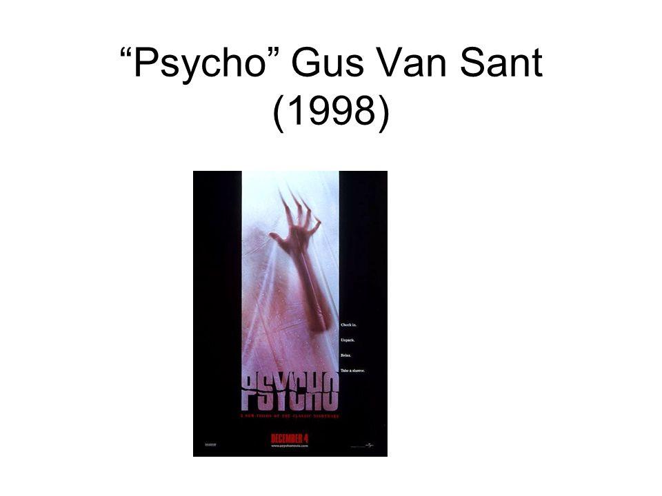Psycho Gus Van Sant (1998)
