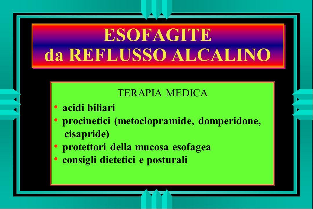 ESOFAGITE da REFLUSSO ALCALINO