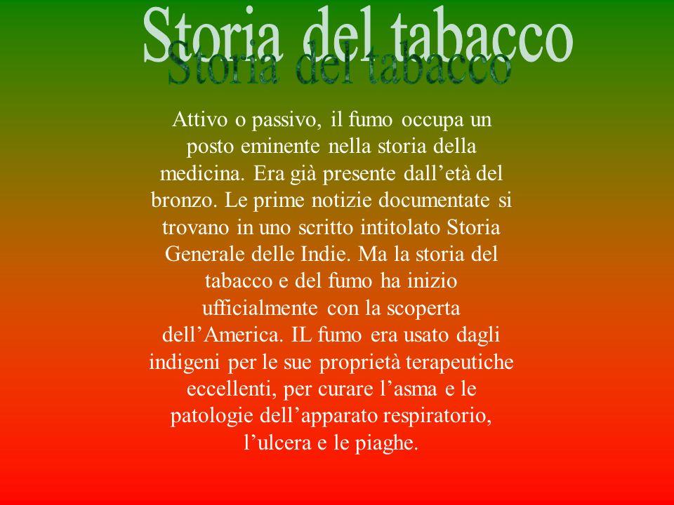 Storia del tabacco
