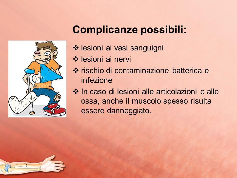 Complicanze possibili: