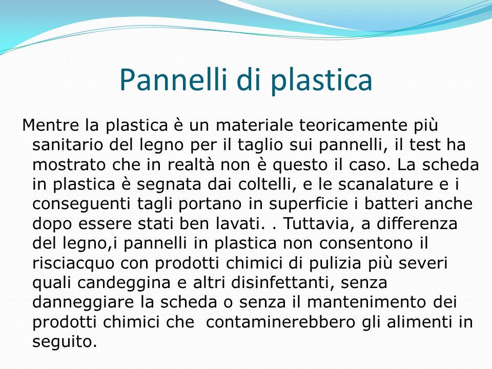 Pannelli di plastica