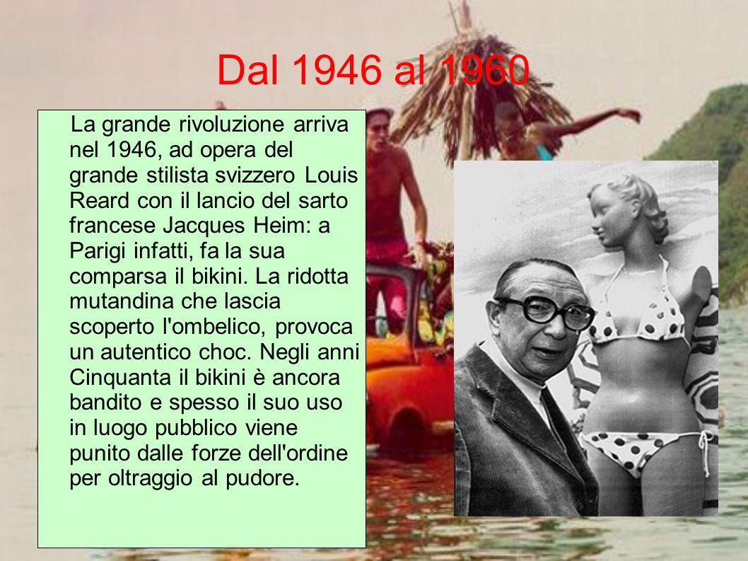 Dal 1946 al 1960