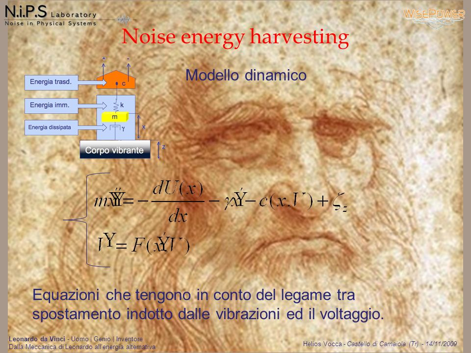 Noise energy harvesting