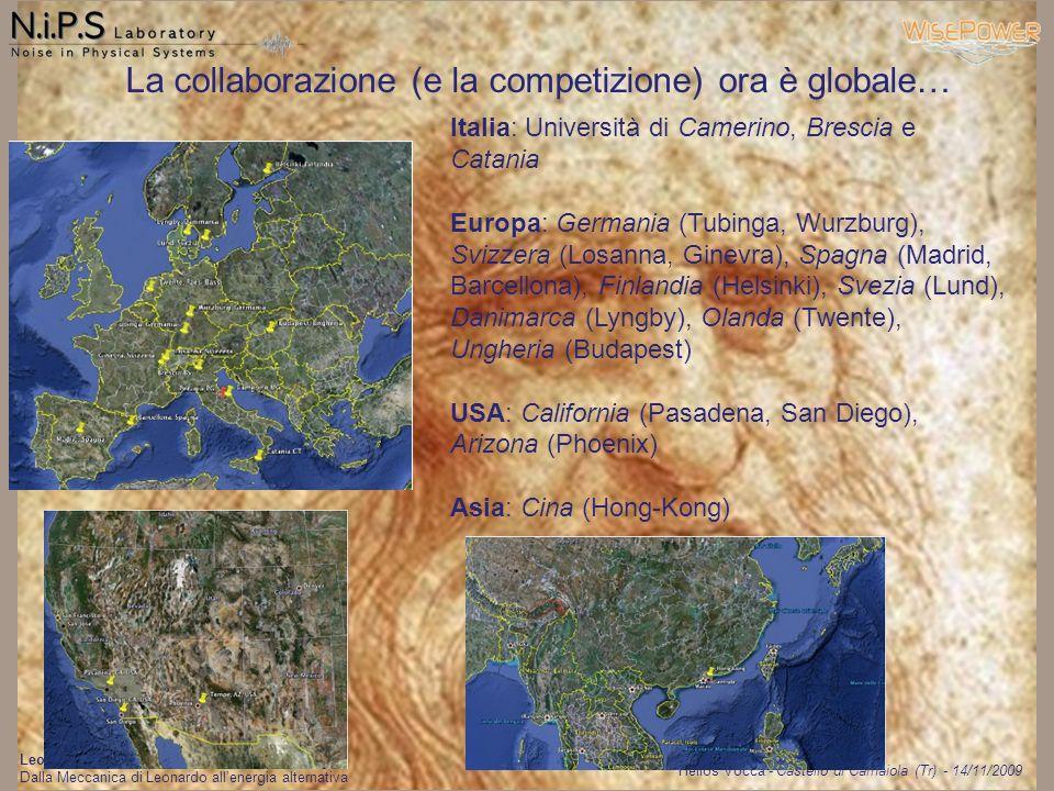 La collaborazione (e la competizione) ora è globale…