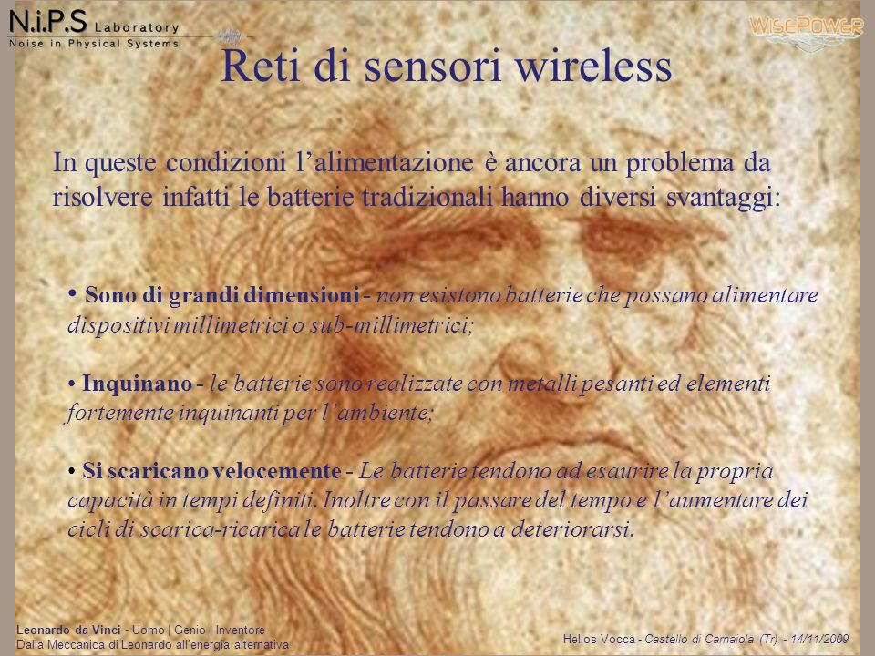 Reti di sensori wireless