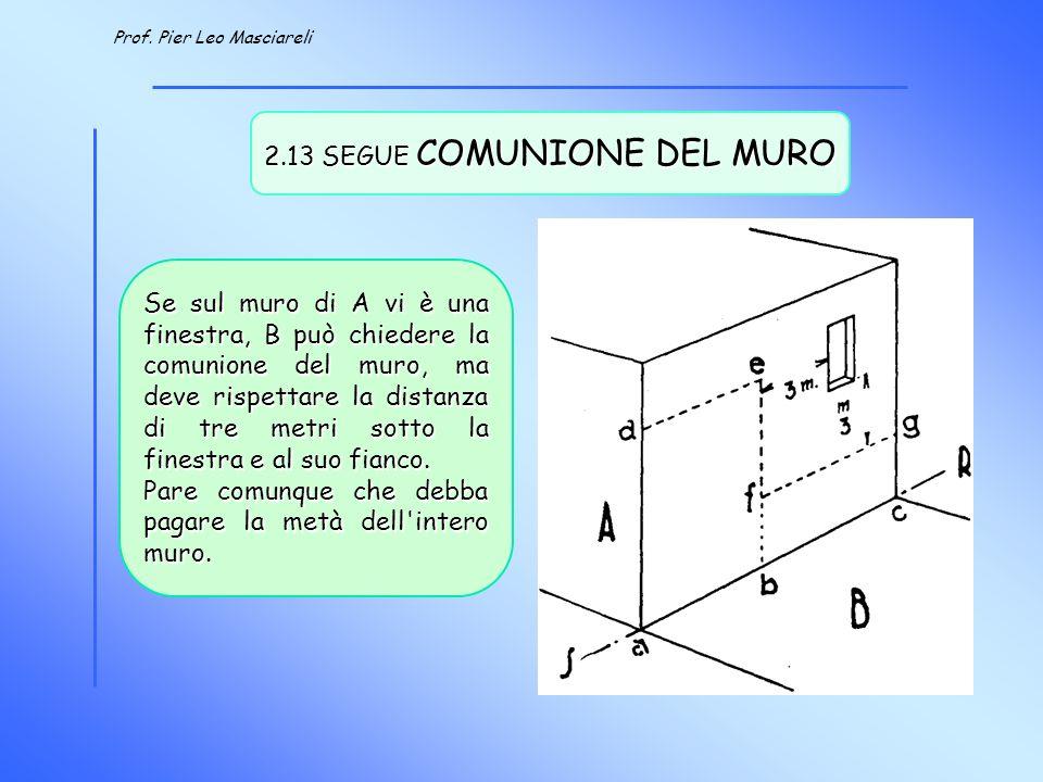 2.13 SEGUE COMUNIONE DEL MURO