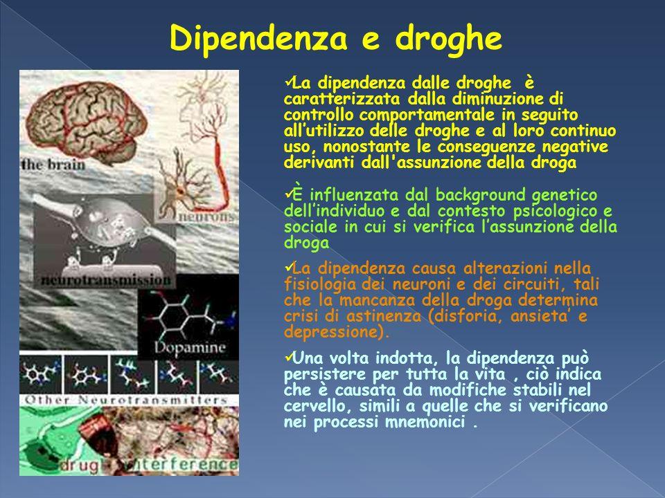 Dipendenza e droghe
