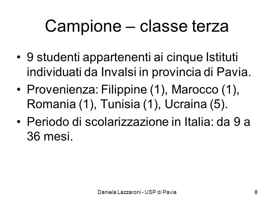 Campione – classe terza