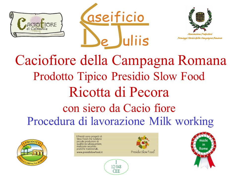 Procedura di lavorazione Milk working