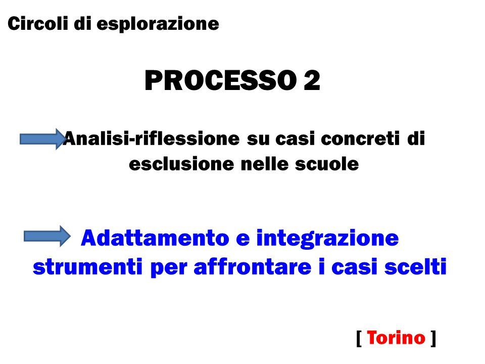 PROCESSO 2 Adattamento e integrazione