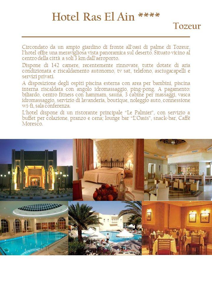 Hotel Ras El Ain **** Tozeur