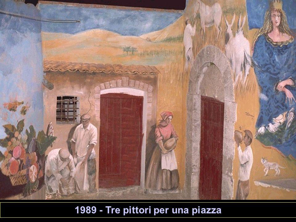 1989 - Tre pittori per una piazza