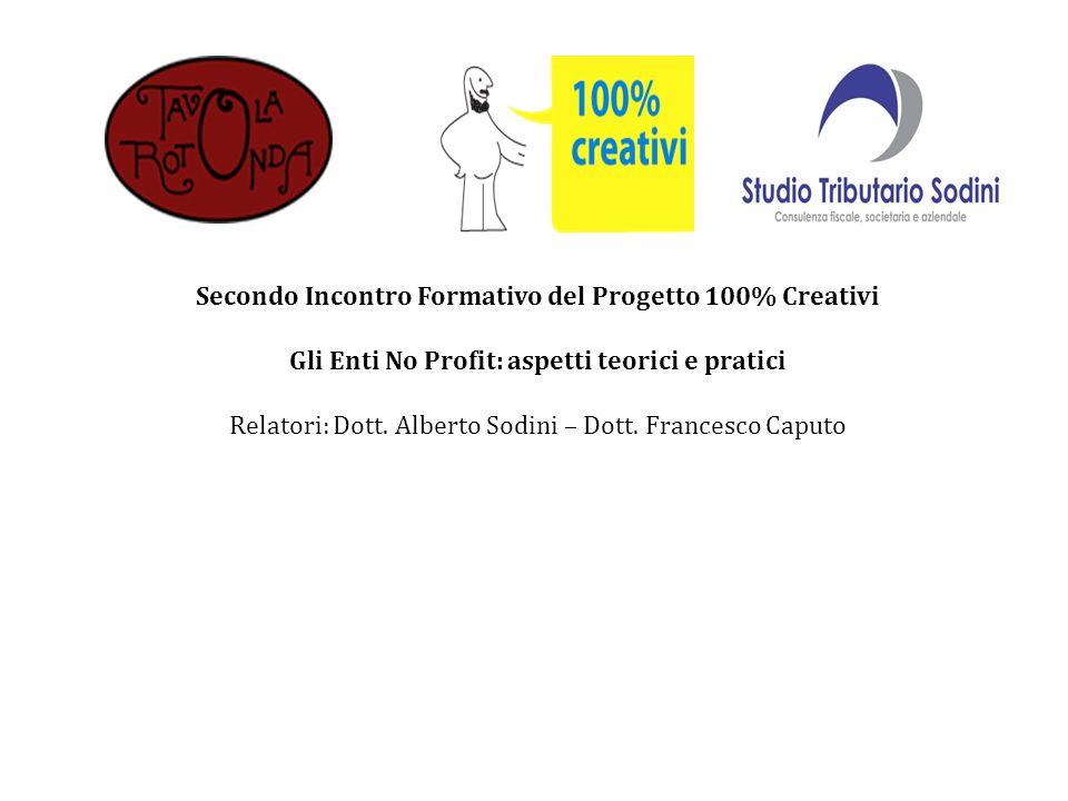 Secondo Incontro Formativo del Progetto 100% Creativi